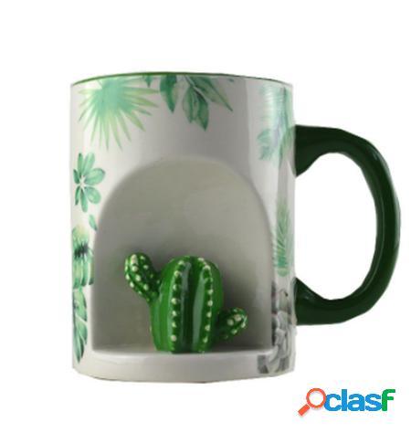 Taza cactus 3d
