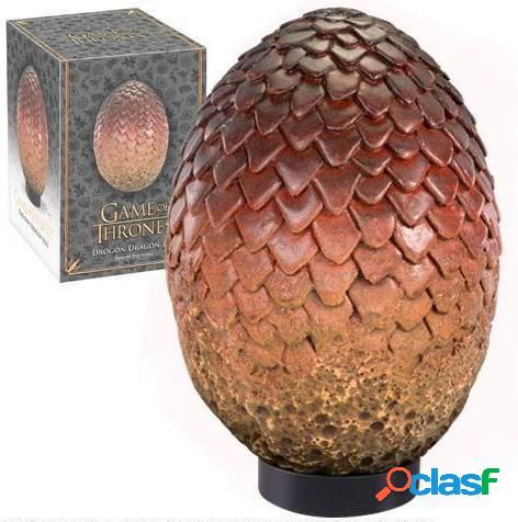 Réplica oficial del huevo de dragón drogon - juego de tronos