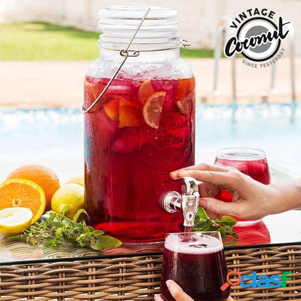 Dispensador de bebidas cristal 4 litros