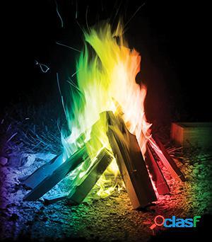 Hacer fuego de colores mystical fire