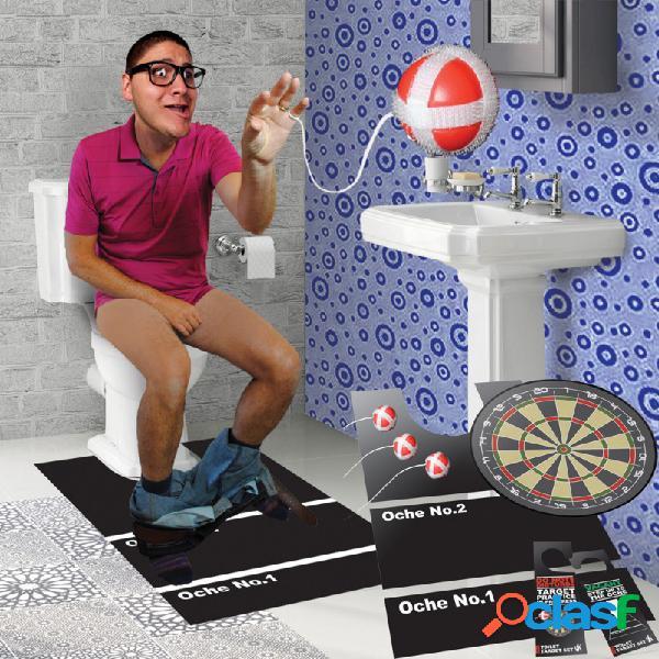 Juego diana con velcro wc
