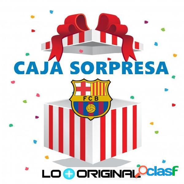 Caja sorpresa futbol club barcelona