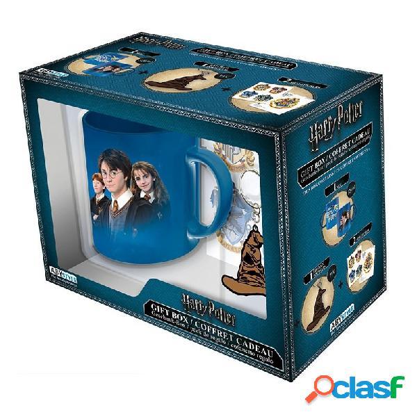 Set regalo taza + stickers + llavero harry potter