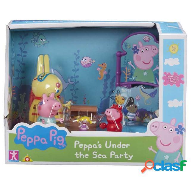Fiesta bajo el mar peppa pig