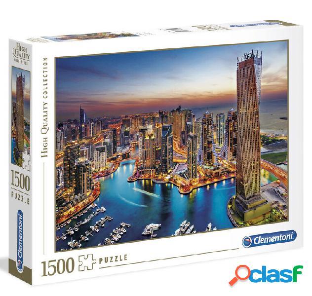Puzzle dubai marina 1500 piezas clementoni