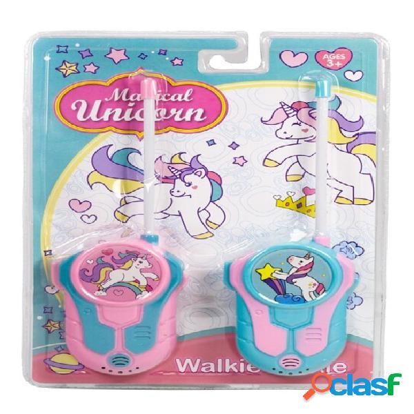 Walkie talkies unicornio