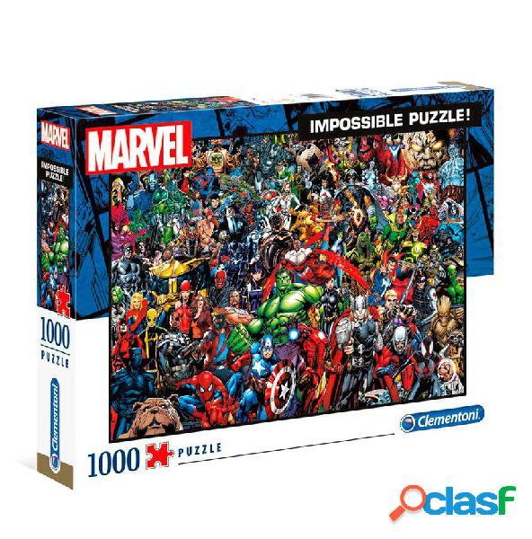 Puzzle imposible marvel 1000 piezas clementoni