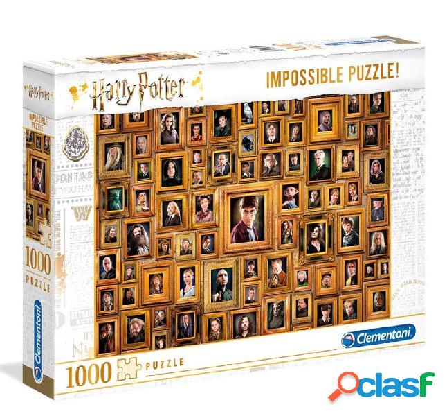 Puzzle imposible retratos harry potter 1000 piezas clementoni