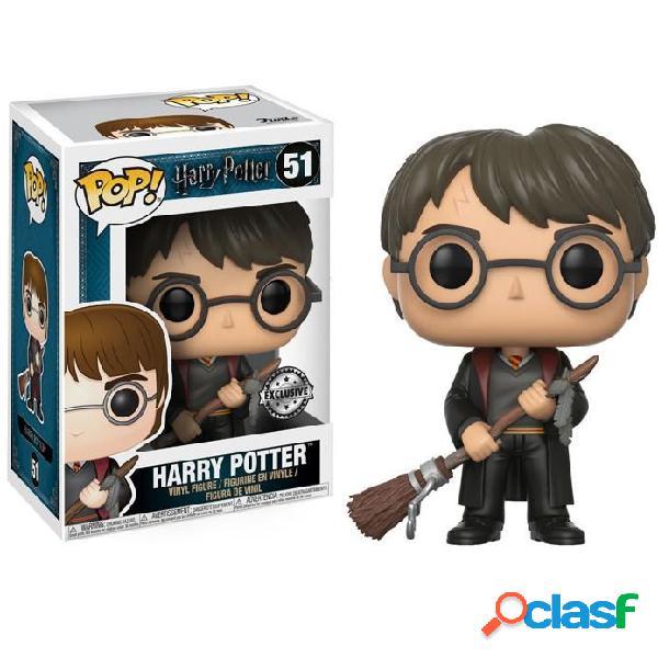 Figura Funko Pop Harry Potter con Escoba Exclusivo