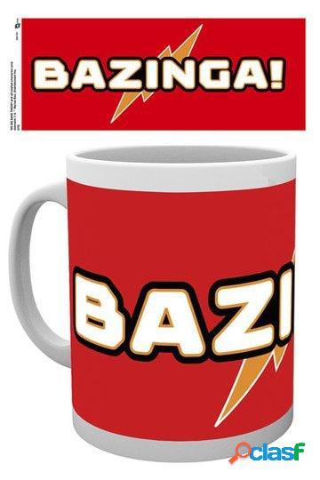 Taza bazinga big bang theory