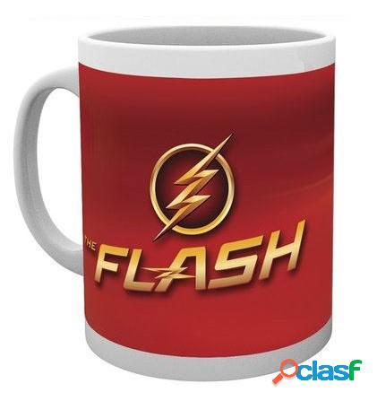 Taza flash logo