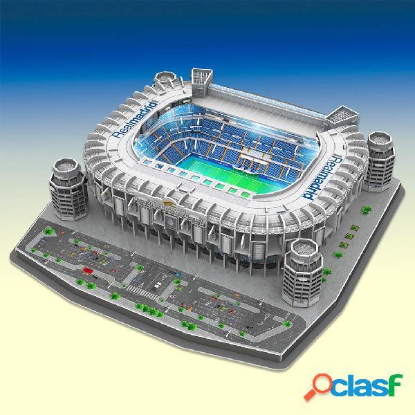 Estadio santiago bernabeu con led