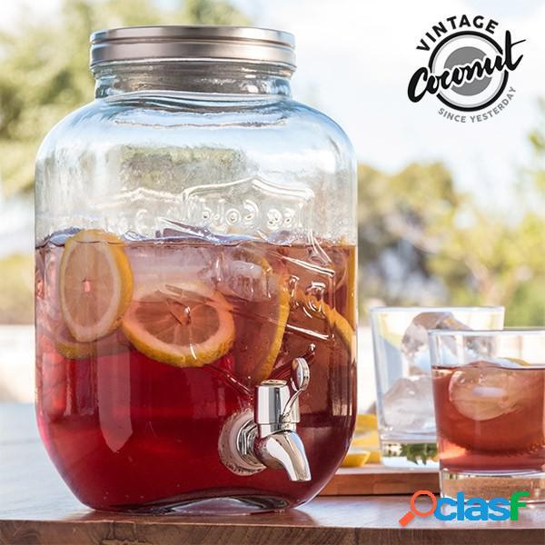 Dispensador de bebidas cristal 3,5 litr