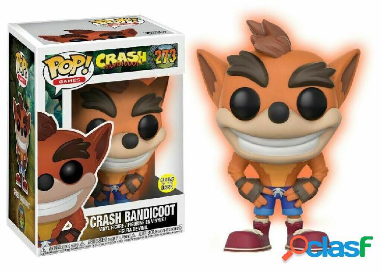 Figura Funko Pop Crash Bandicoot Glows in The Dark