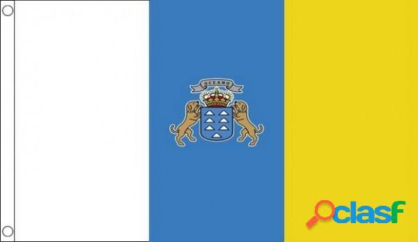 Bandera islas canarias 150 x 90 cm