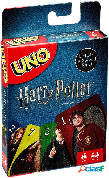 Juego de cartas uno harry potter