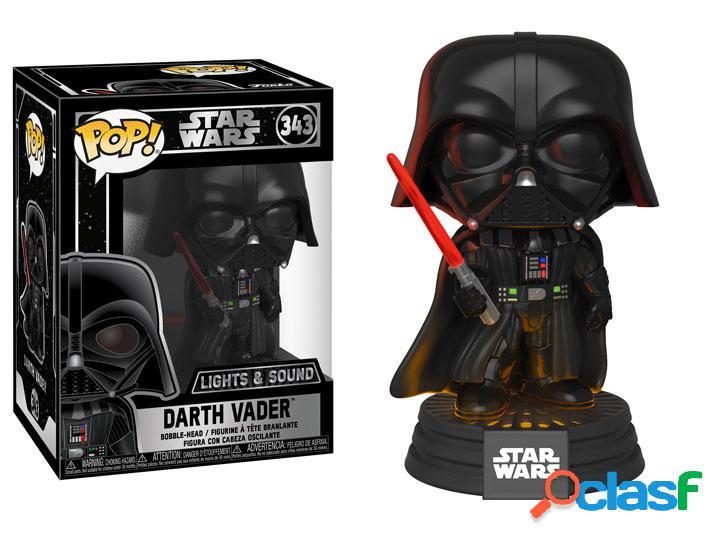 Figura Funko Pop Darth Vader Star Wars con luz y sonido
