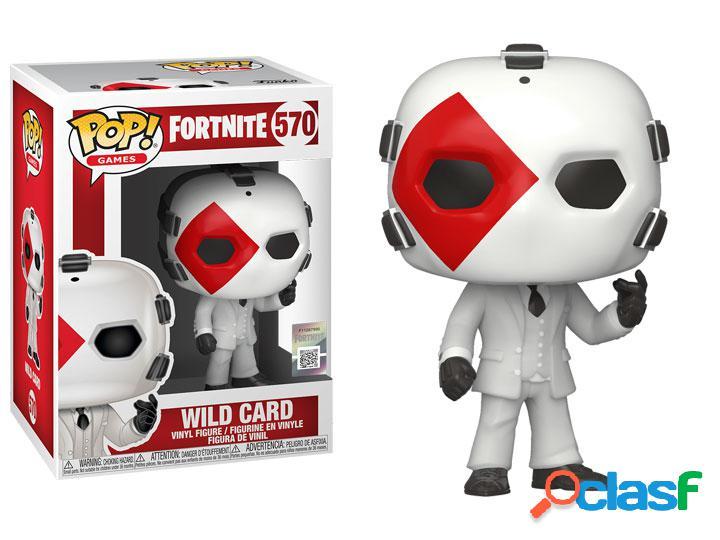 Figura Funko Pop Wild Card Fortnite