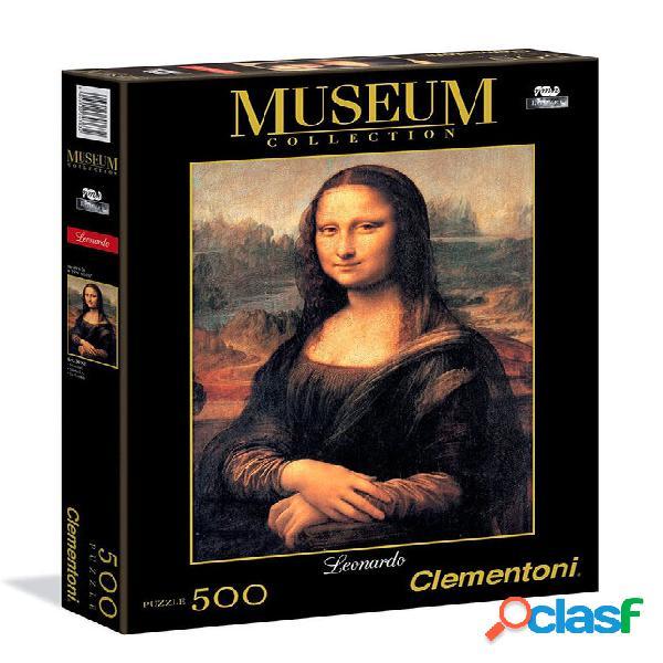 Puzzle mona lisa 500 piezas clementoni