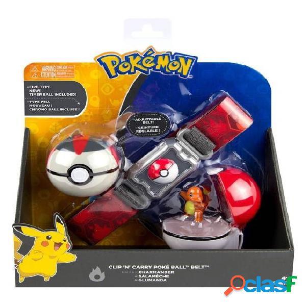 Cinturon poke ball charmander pokemon