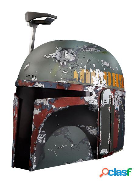 Replica casco electronico boba fett star wars black series
