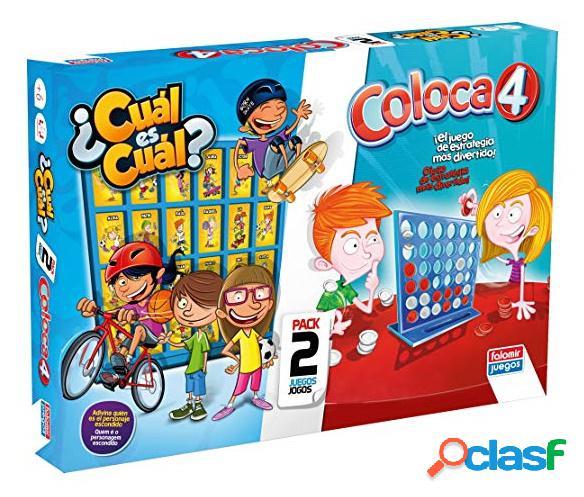 Pack juegos coloca 4 + ¿ cual es cual €