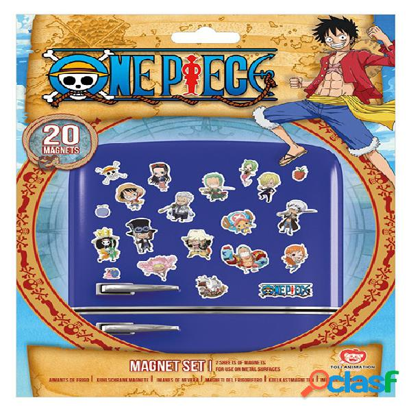 Set imanes chibi one piece