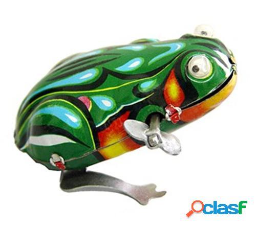 Figura hojalata rana con movimiento