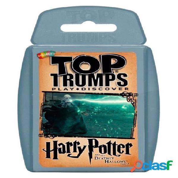 Juego de cartas top trumps harry potter