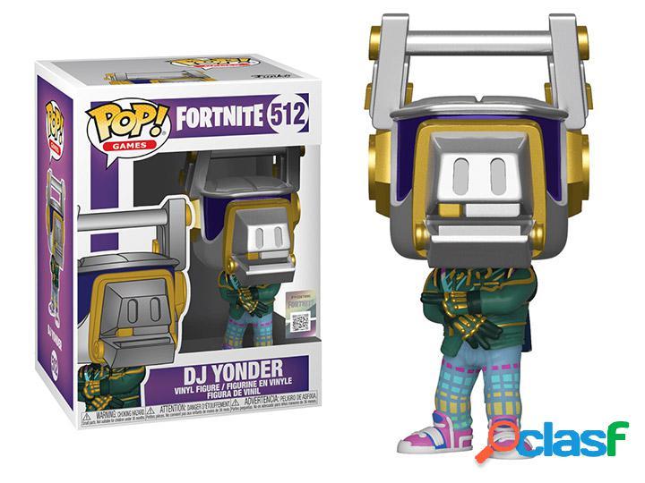 Figura Funko Pop Dj Yonder Fortnite
