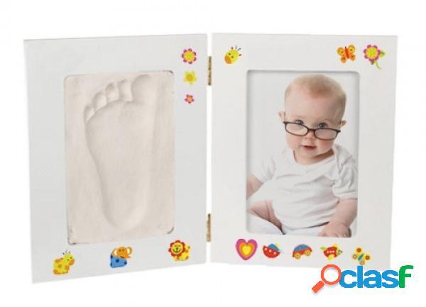 Set portaretratos + moldeador huella bebe