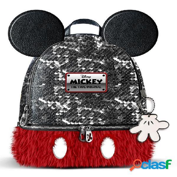 Mochila mickey mouse pequeña disney 26 cm