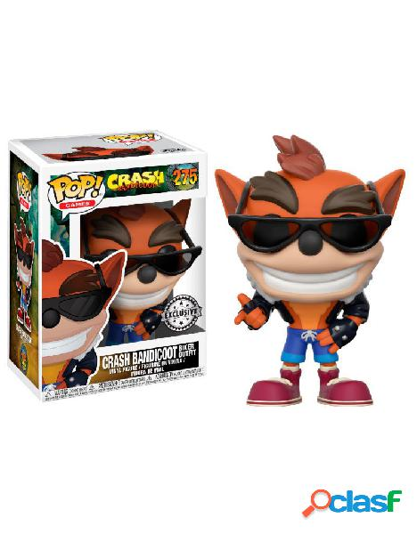 Figura Funko Pop Crash Bandicoot biker outfit