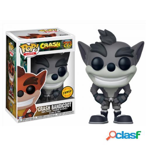 Figura funko pop crash bandicoot chase