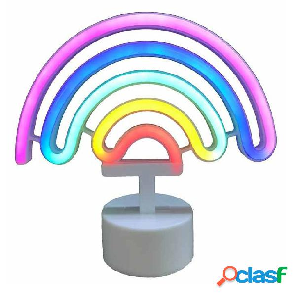 Figura lampara arcoiris