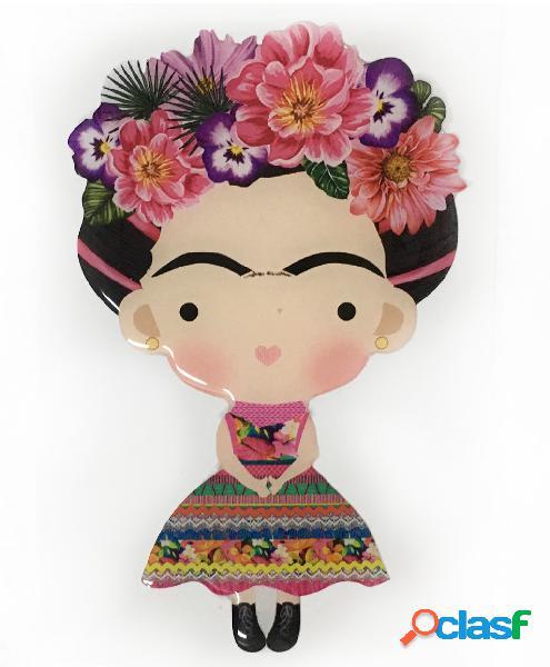 Pegatina muñeca mexicana