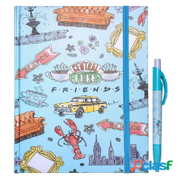 Set libreta + boligrafo friends