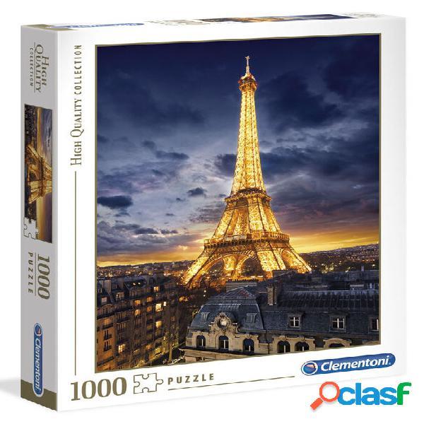 Puzzle torre eiffel 1000 piezas clementoni