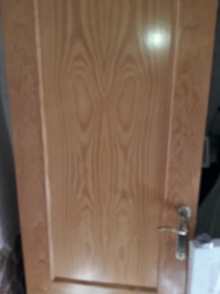 3 puertas macizas de madera