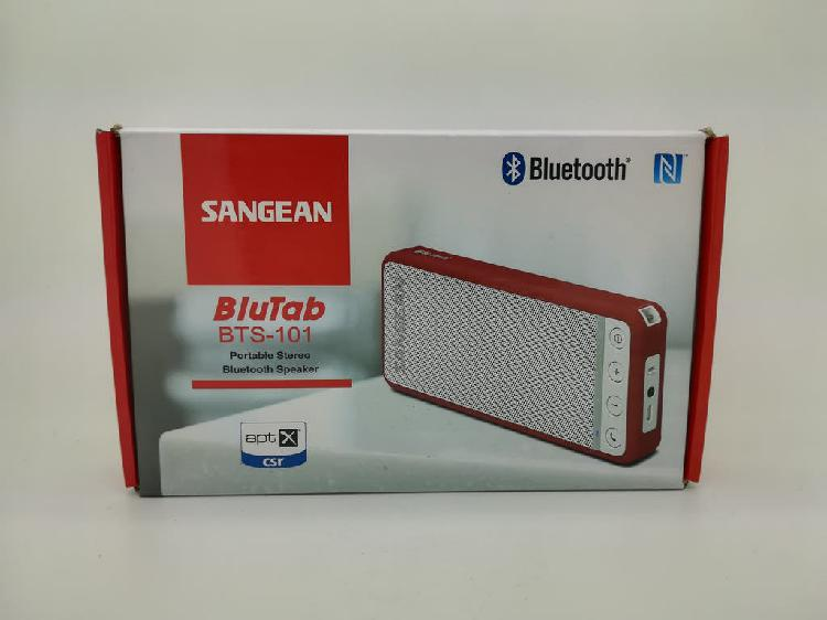 Altavoz bluetooth a bateria sangean bts-101