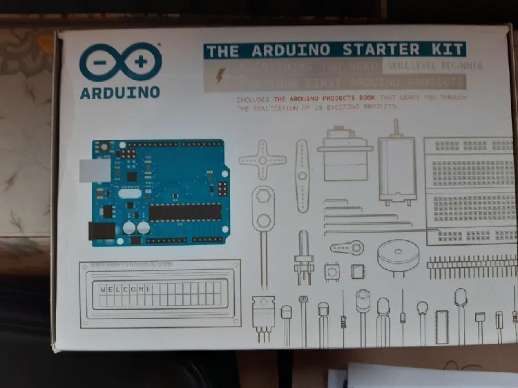 Arduino starter kit con extras