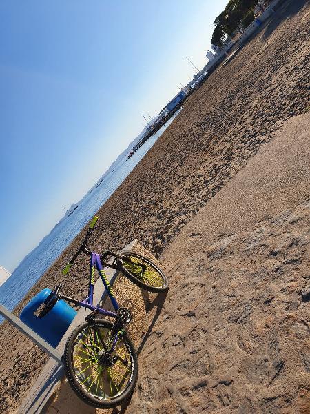 Bici bicicleta descenso escucho ofertas y cambios