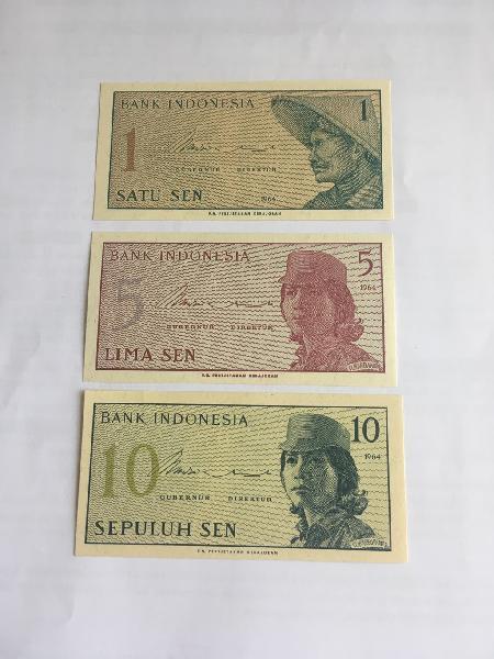 Billetes indonesia