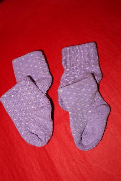 Calcetines bebé 0-2 meses
