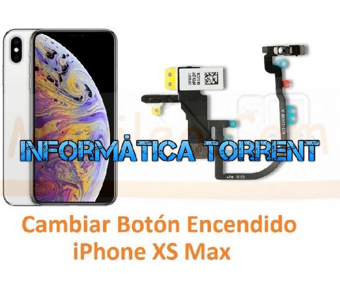 Cambiar botón encendido iphone xs max