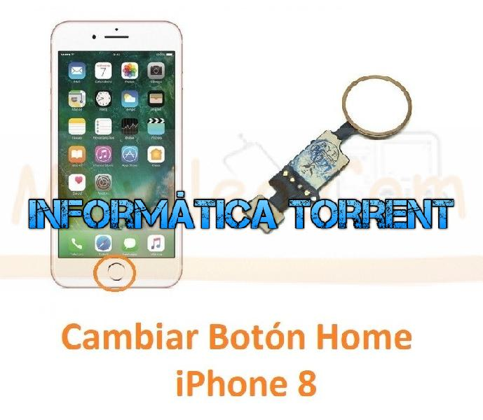 Cambiar botón home iphone 8