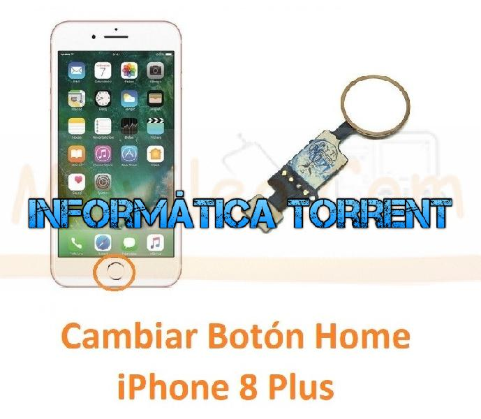 Cambiar botón home iphone 8 plus