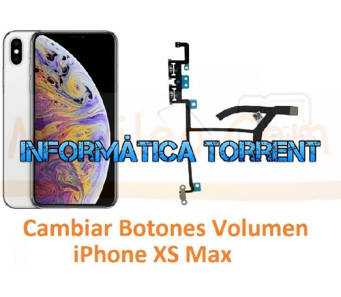 Cambiar botones volumen iphone xs max