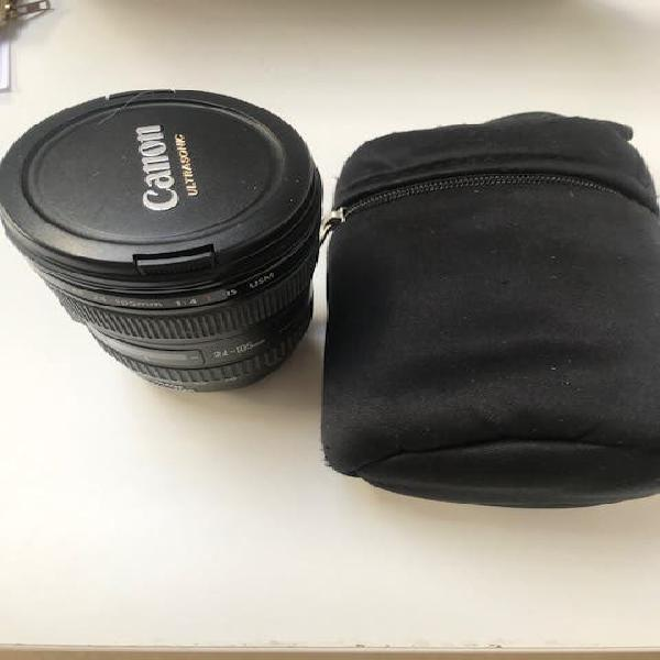 Canon original lente ef 24-105 mm f / 4.0l is usm