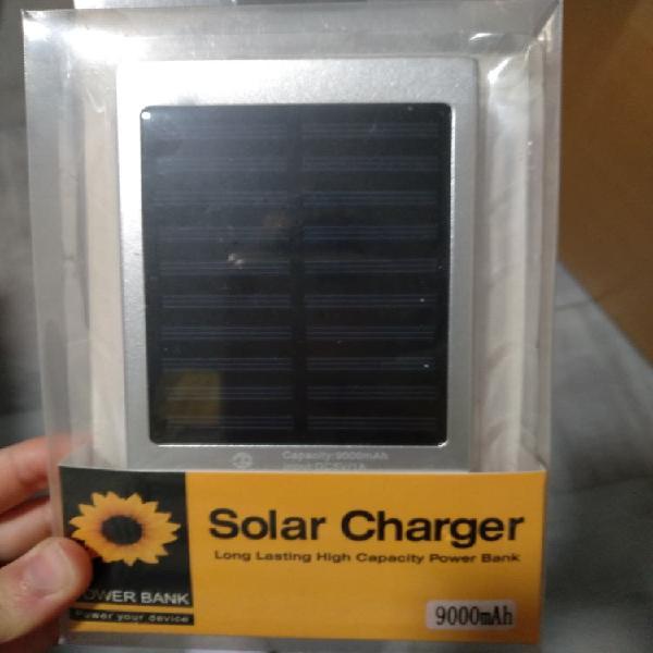 Cargador solar para movil u otros